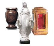 Vases, Statues and Lamps